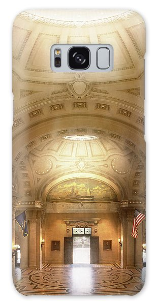 Galaxy Case featuring the photograph City - Annapolis Md - Bancroft Hall by Mike Savad