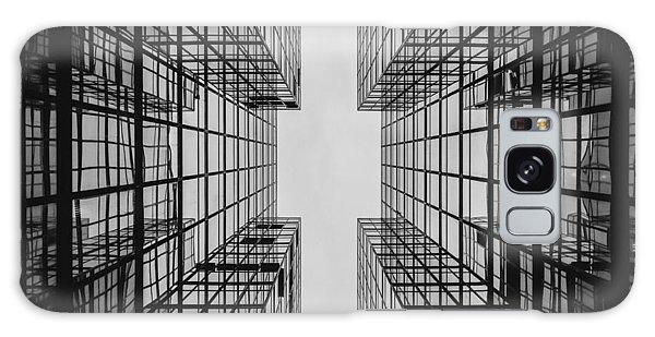 City Buildings Galaxy Case