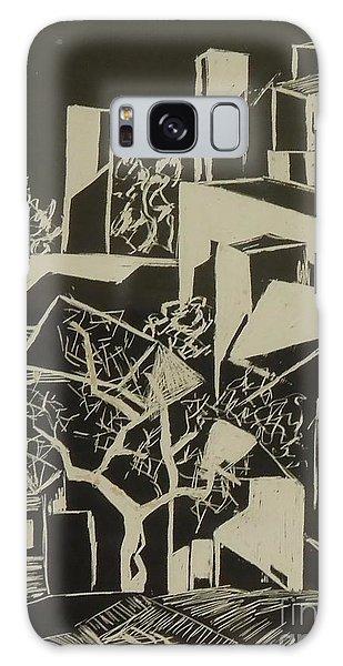 City By Moonlight - Sold Galaxy Case by Judith Espinoza