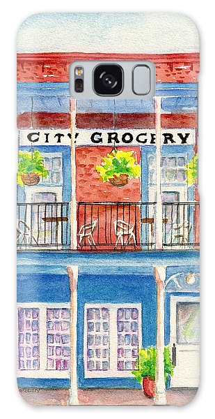 City Grocery Oxford Mississippi  Galaxy Case