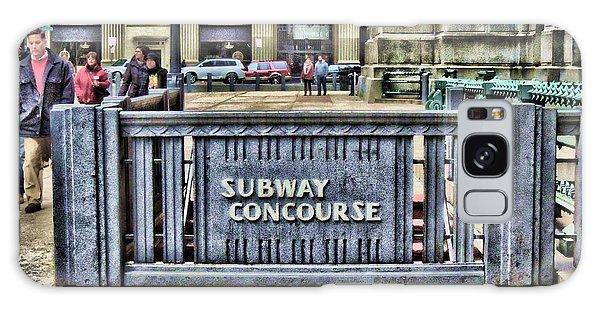 City Hall Sidewalk Galaxy Case