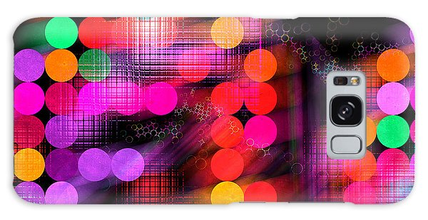 Galaxy Case featuring the digital art City Lights by Fran Riley
