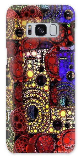 City Lights Galaxy Case