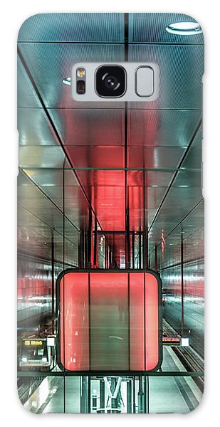 City Metro Station Hamburg Galaxy Case