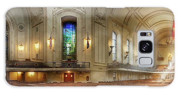 Galaxy Case featuring the photograph City - Naval Academy - God Is My Leader by Mike Savad