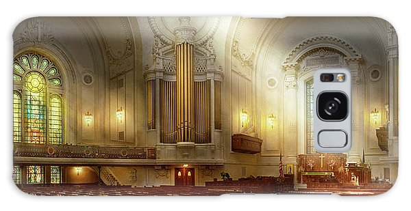 Galaxy Case featuring the photograph City - Naval Academy - The Chapel by Mike Savad