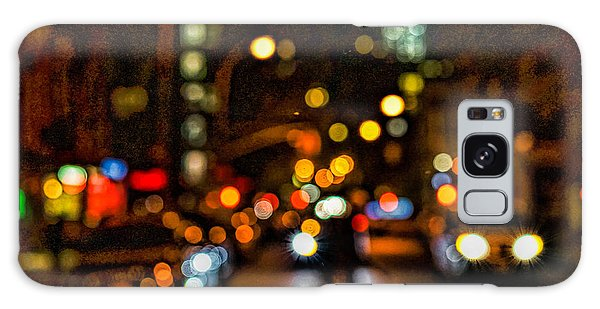 City Nights, City Lights Galaxy Case