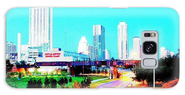City Of Austin From The Walk Bridge 2 Galaxy Case