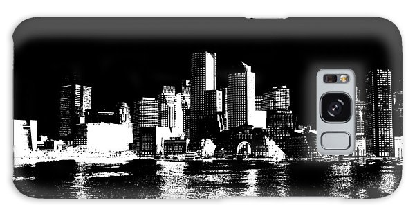 City Of Boston Skyline   Galaxy S8 Case