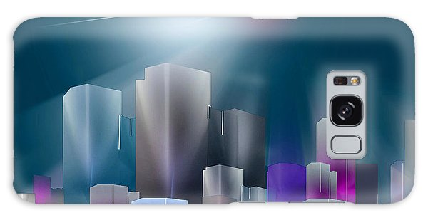 City Of Light Galaxy Case