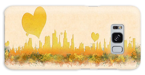 City Of Love Galaxy Case