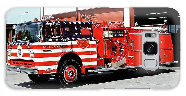 City Of Napa Van Pelt Engine 3 Galaxy Case
