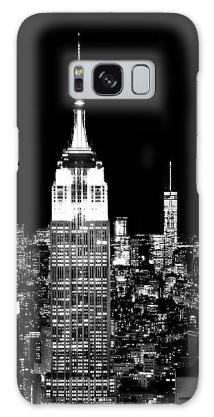 Empire State Building Galaxy S8 Case - City Of The Night by Az Jackson