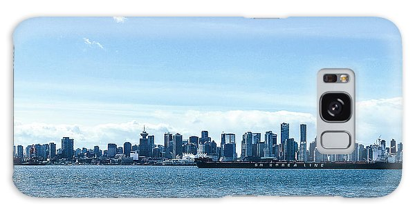 City Of Vancouver From The North Shore Galaxy Case