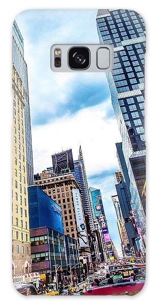 New York City Taxi Galaxy Case - City Sights Nyc by Az Jackson