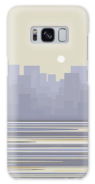 City Skyline Morning Galaxy Case