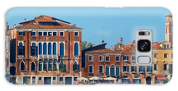 Galaxy Case featuring the photograph City Skyline Of Venice by Songquan Deng