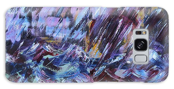 City Storm Abstract Galaxy Case