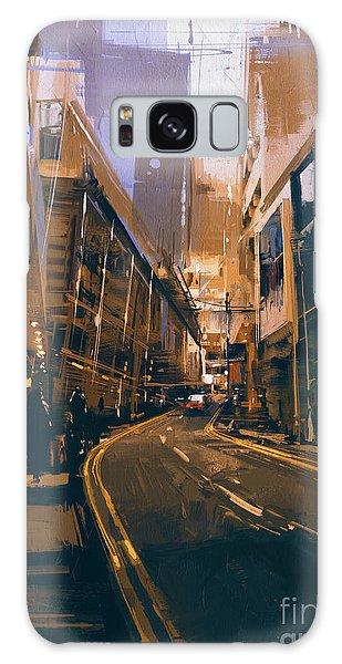 City Street Galaxy Case