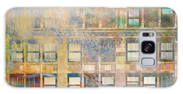 City Textures Windows Galaxy Case