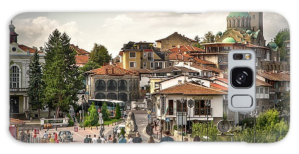 City - Veliko Tarnovo Bulgaria Europe Galaxy Case