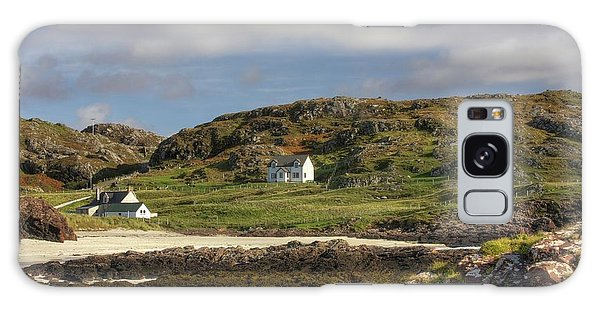 Clachtoll Beach Galaxy Case