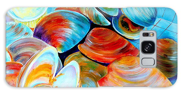 Clams At The Jersey Shore Galaxy Case