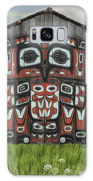 Clan House In Haines Alaska Galaxy Case by Gary Warnimont
