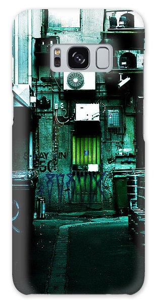 Rubbish Bin Galaxy Case - Clandestine by Andrew Paranavitana