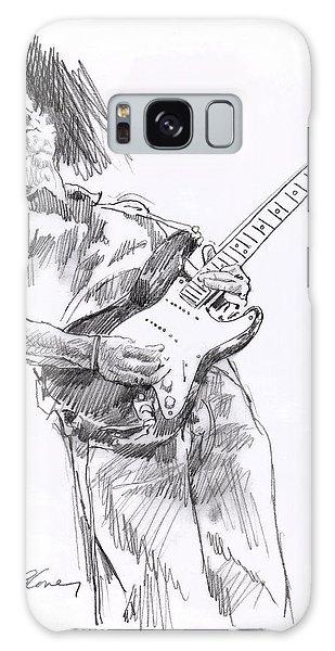 Eric Clapton Galaxy Case - Clapton Blues Down by David Lloyd Glover