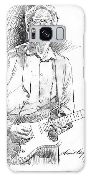 Eric Clapton Galaxy Case - Clapton Riff by David Lloyd Glover
