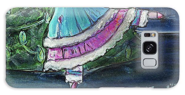 Galaxy Case featuring the painting Clara II by TM Gand