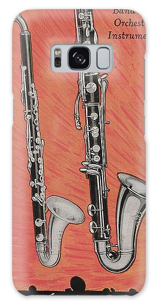 Clarinet And Giant Boehm Bass Galaxy Case by American School