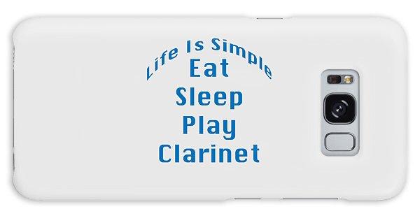 Clarinet Eat Sleep Play Clarinet 5512.02 Galaxy Case