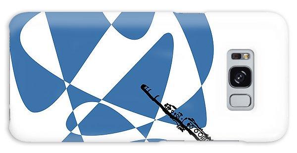 Clarinet In Blue Galaxy Case