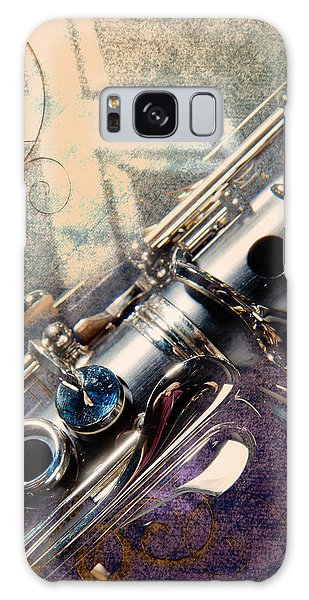 Clarinet Music Instrument Against A Cross 3520.02 Galaxy Case