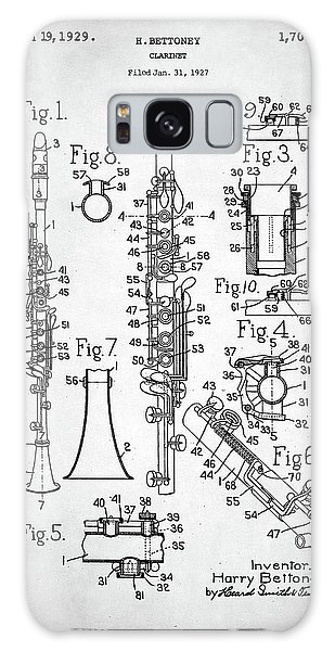 Clarinet Patent Galaxy Case by Taylan Apukovska