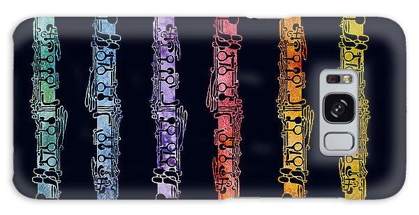 Clarinet Rainbow Galaxy Case