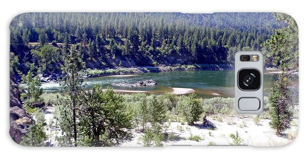 Clark Fork River Missoula Montana Galaxy Case