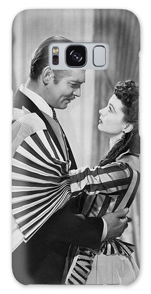 Clark Gable And Vivien Leigh Galaxy Case