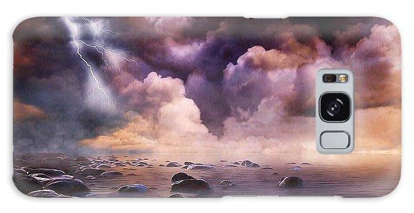 Clash Of The Clouds Galaxy Case by Gabriella Weninger - David