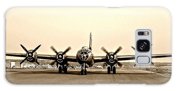 Classic B-29 Bomber Aircraft Galaxy Case