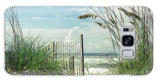 To The Beach Sea Oats Galaxy Case