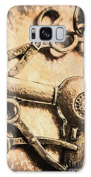 Indoors Galaxy Case - Classic Beauty Salon Icons by Jorgo Photography - Wall Art Gallery