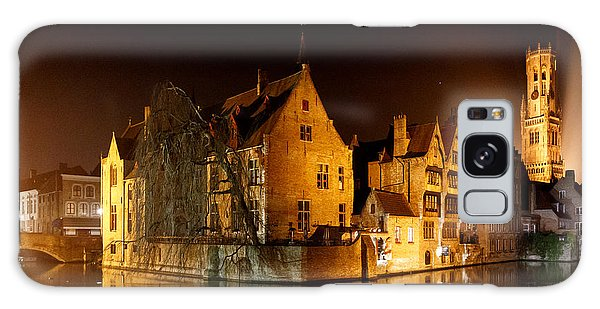 Classic Bruges At Night Galaxy Case