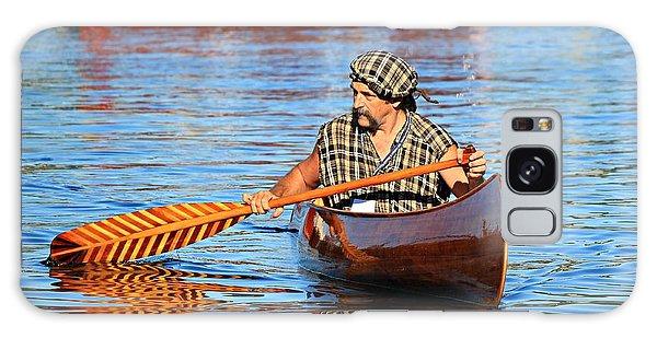 Classic Canoe Galaxy Case