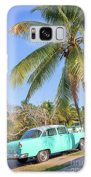 Style Galaxy Case - Classic Car In Playa Larga by Delphimages Photo Creations