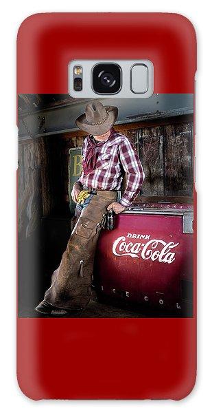 Classic Coca-cola Cowboy Galaxy Case