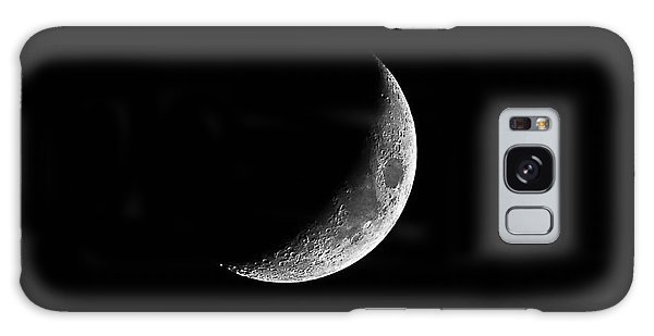 Classic Crescent Cropped Galaxy Case