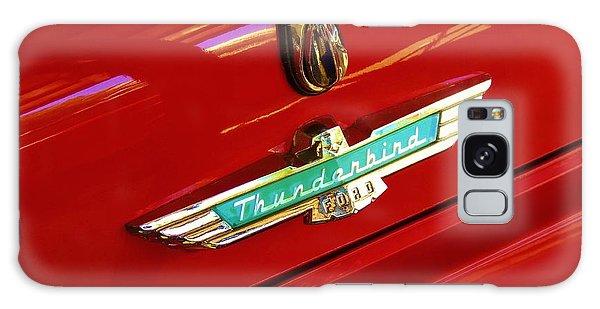 Classic Ford Thunderbird Emblem Galaxy Case
